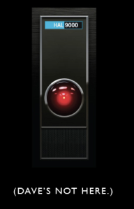 HAL from 2001: A Space Odyssey