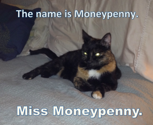Miss Moneypenny  © 2013 pithypants