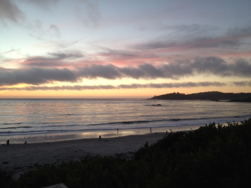 Sunset in Carmel