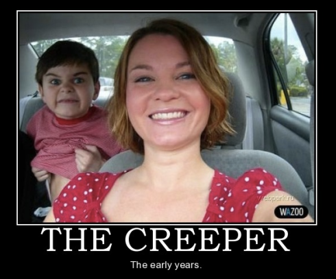 Image Source: http://neoexperiences.blogspot.com/2011/01/attack-of-creepers.html