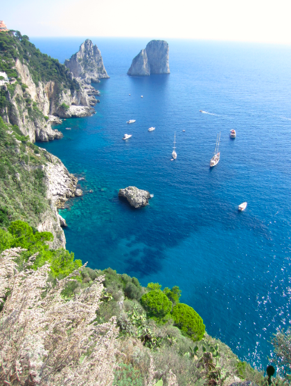 "Capri - the island that is ""no big whoop..."""