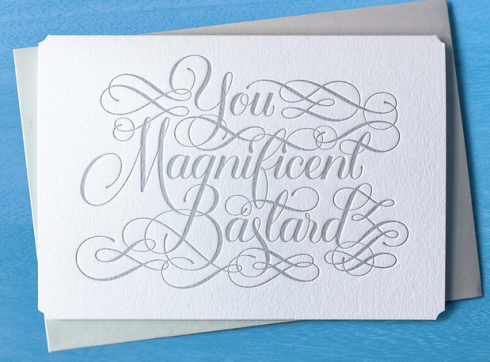 Magnificent Bastard - by Calligraphuck